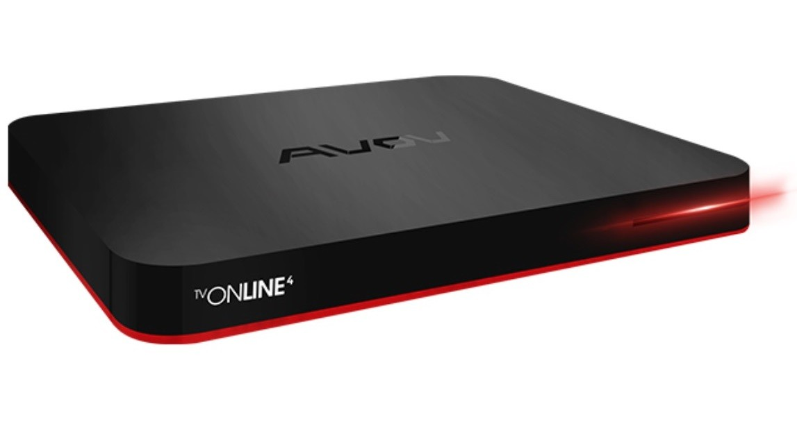 AVOV TVonline 4 IPTV/OTT Set-Top Box with Kodi