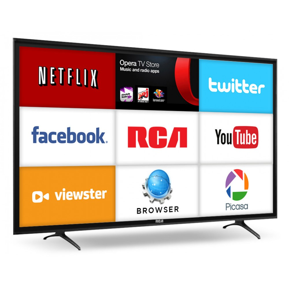 "RCA 40"" 1080P Full HD LED Smart Television RLDED4079A-SM"